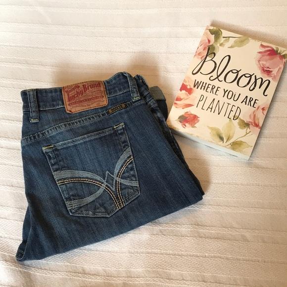 Lucky Brand Pants - Lucky Brand Sweet N Low Bermuda Jean Shorts 10/30